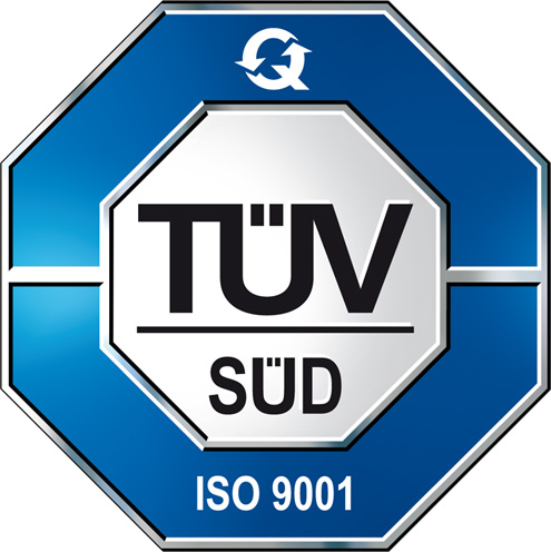 Certifications ISO9001 TUV SUD